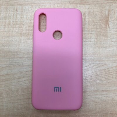 Накладка для Xiaomi Redmi 7 Mi Silicone Cover Light Pink