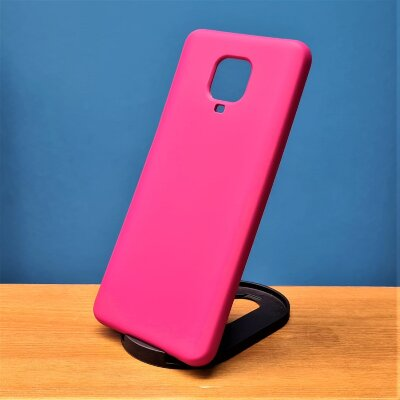 Накладка для Xiaomi Redmi Note 9 PRO/Note 9s Silicone Case Rose Red